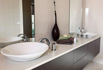 Modern bathroom cabinetry