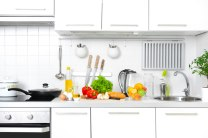 White kitchen cabinetry